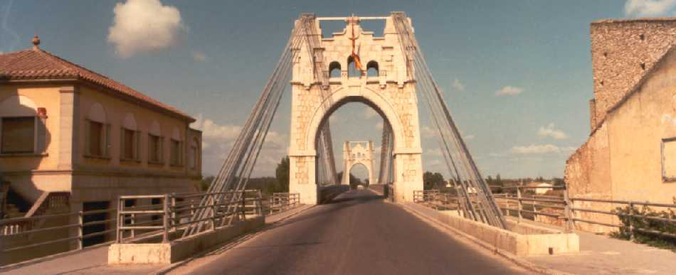 AMPOSTA SUSPENSION BRIDGE